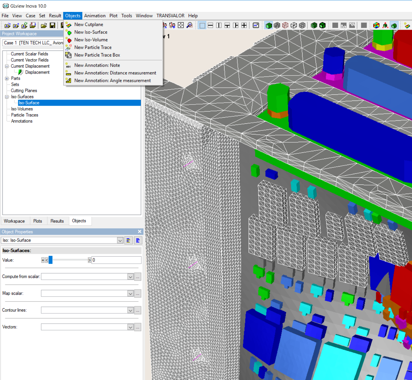 GLview inova | 3D Visualization post-process for CFD & FEA simulation