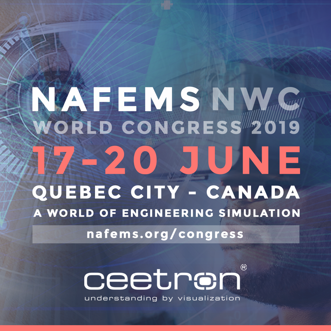 Event: Time to prepare for NAFEMS World Congress in Quebec on June 17-20