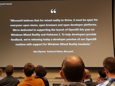 Insight: Trip report from MS mixed reality dev days in
