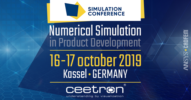 Invitation: Meet us at CADFEM 2019 in Kassel, Germany on October 16-17